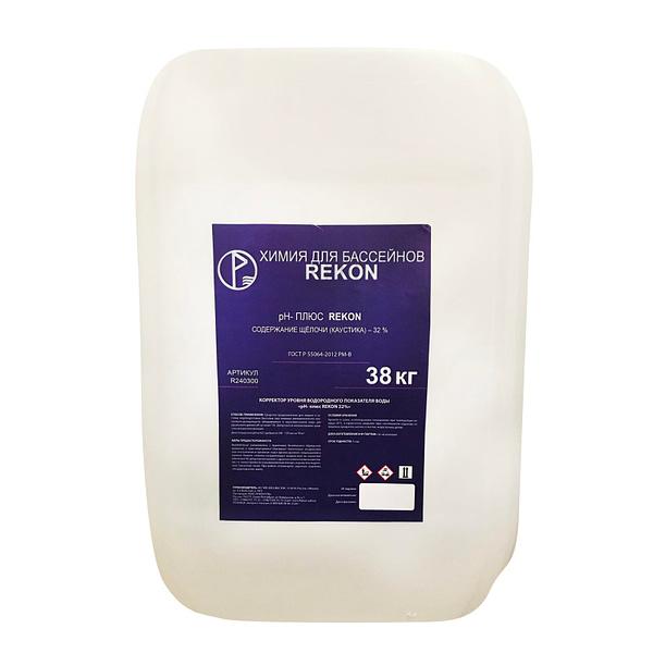 pH плюс (жидкий) 38 кг REKON для бассейна